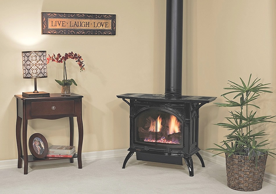White Mountain's DVP30CC Large Gas Stove