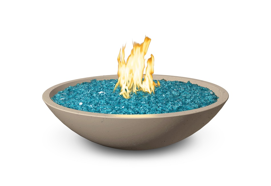 32 in. Marseille Fire Bowl