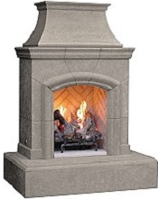 Chica Gas Outdoor Fireplace