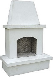 Contractor Model Outdoor Fireplace
