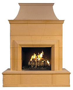 Cordova Outdoor Fireplace