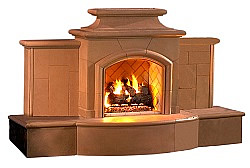Grand Mairposa Outdoor Fireplace
