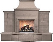 Grand Petite Cordova Outdoor Fireplace