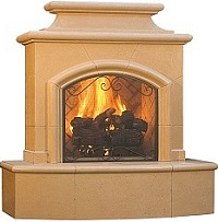 Mariposa Outdoor Fireplace
